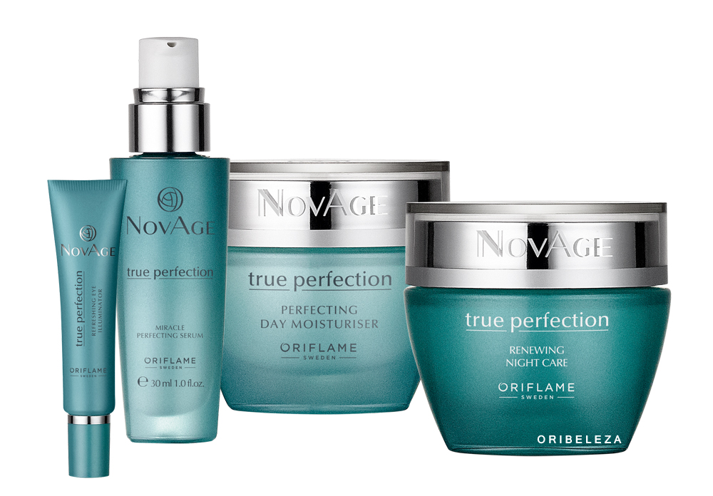 TRUE PERFECTION NOVAGE FROM ORIFLAME COSMETICS UK USA