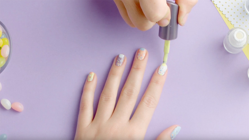 PASTEL NAILS - STEP BY STEP TUTORIAL