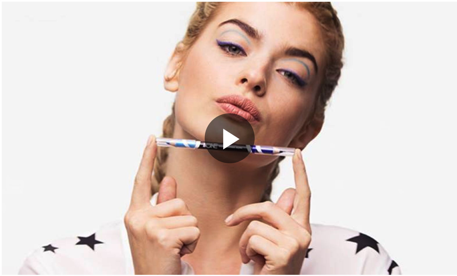 VIDEO TUTORIAL: DOUBLE WING EYELINER