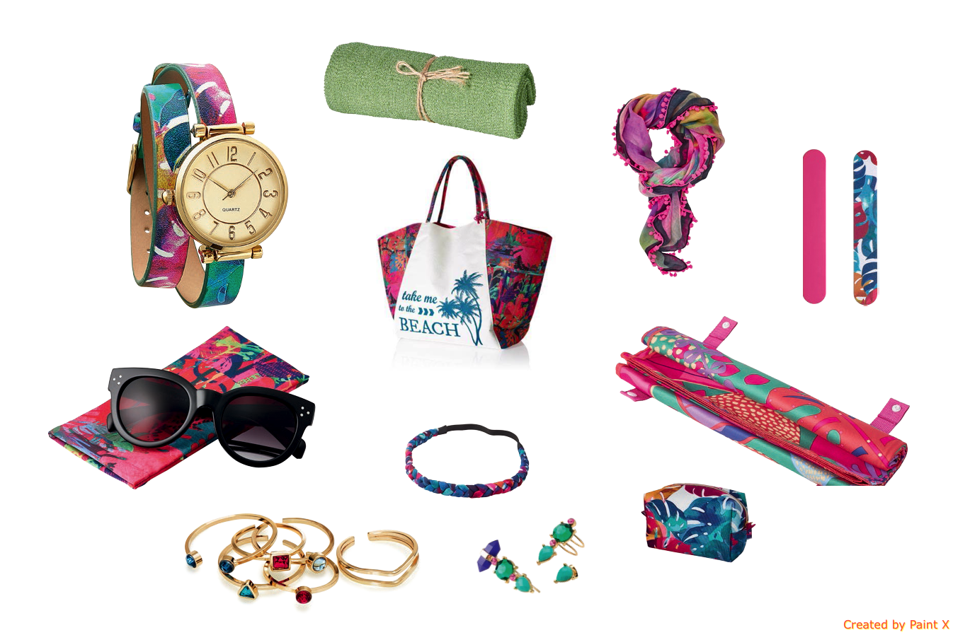 ARUBA COLLECTION – BEACH ACCESSORIES  | Oriflame Cosmetics