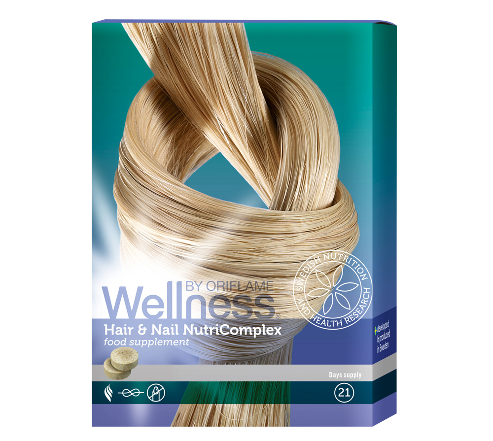 NOURISHING COMPLEX FOR HAIR AND NAILS | Hair & Nail NutriComplex