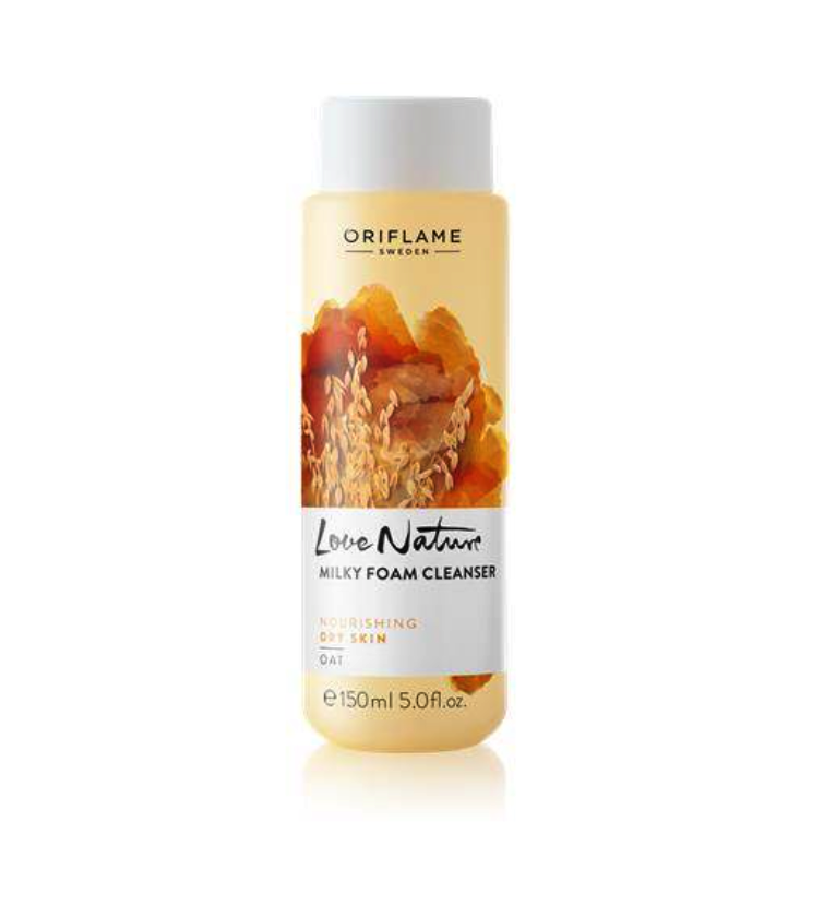 Love Nature Milky Foam Cleanser OatTell a Friend