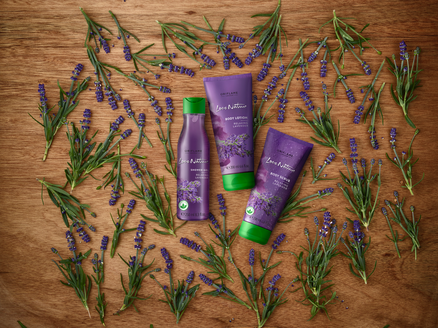 Love Nature Relaxing – LAVENDER | Oriflame Cosmetics
