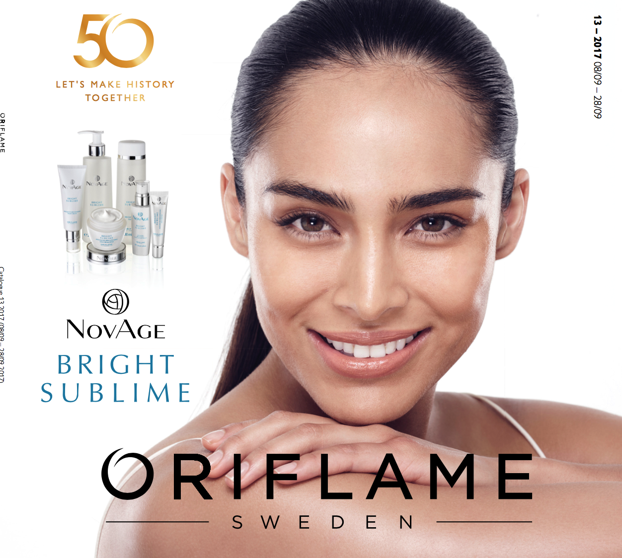 ORIFLAME CATALOGUE 13 OF 2017 UK & USA
