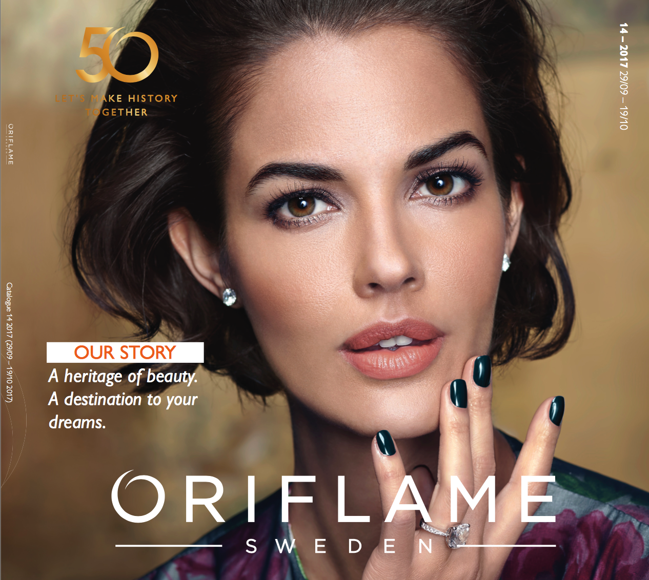 ORIFLAME CATALOGUE 14  2017 UK & USA