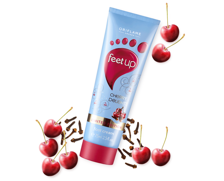 CHERRY DELIGHTS FEET UP FOOT CREAM