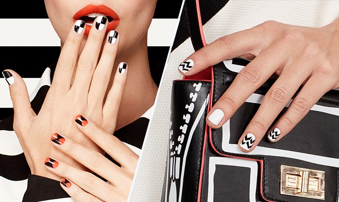 GET PERFECT GRAPHIC NAILS