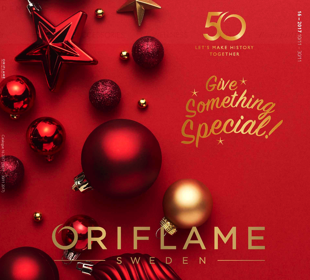 ORIFLAME COSMETICS CATALOGUE 16 OF 2017 UK USA