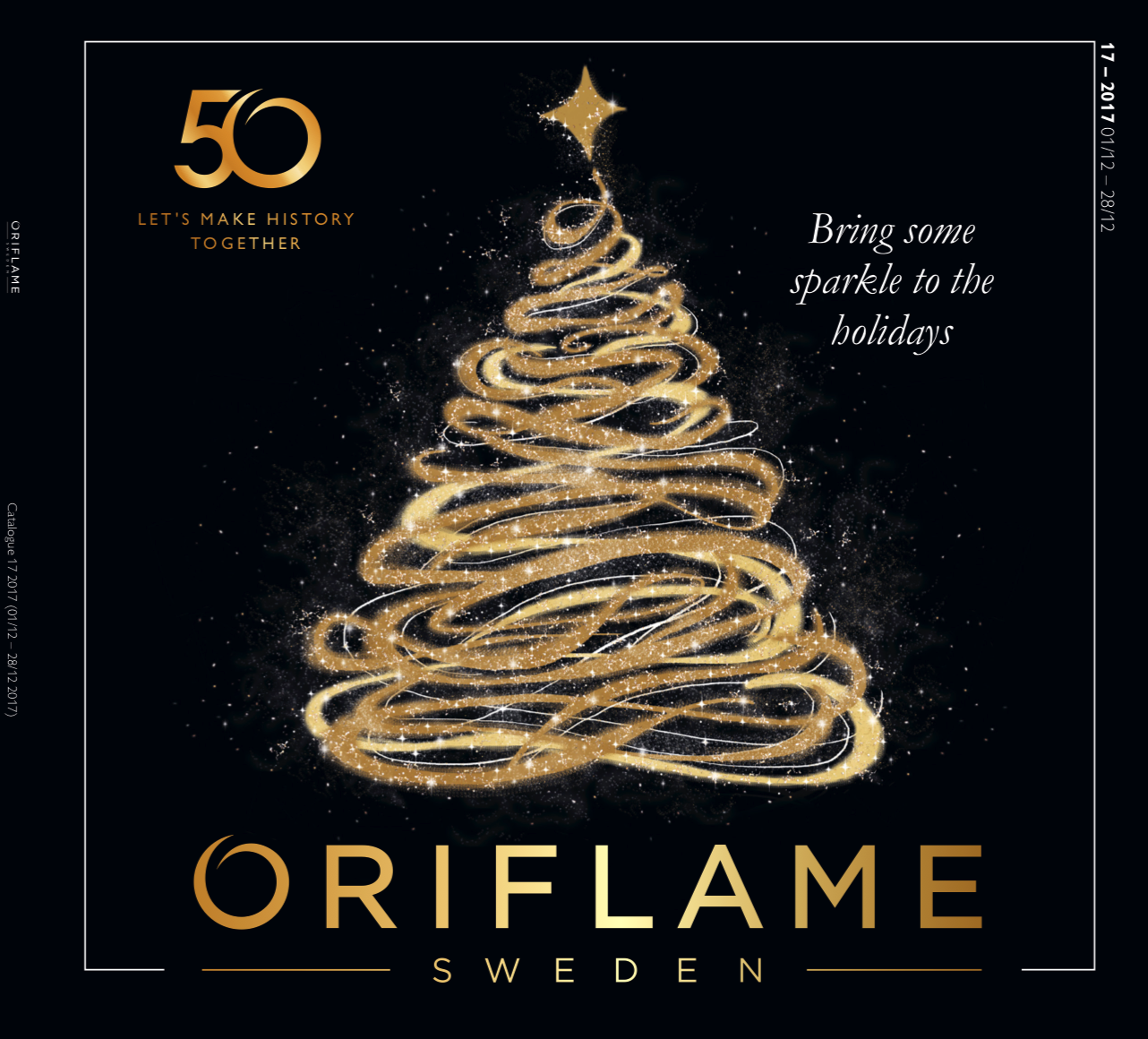 ORIFLAME COSMETICS  CATALOGUE 17 OF 2017 UK USA