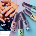 The ONE Long Nail Varnish Pastel Colours