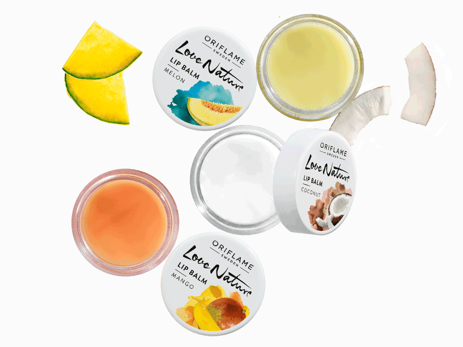 Love Nature Lip Balms