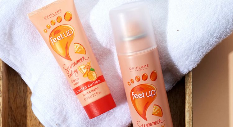 Feet Up Summer Refreshing Feet Care