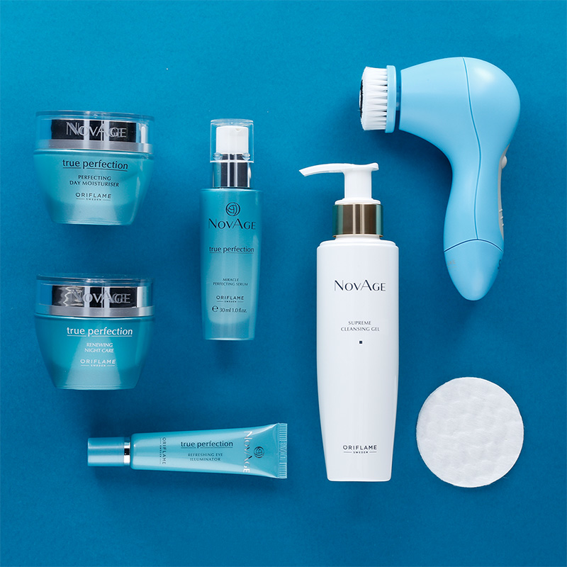 Oriflame NovAge Face Care Routine