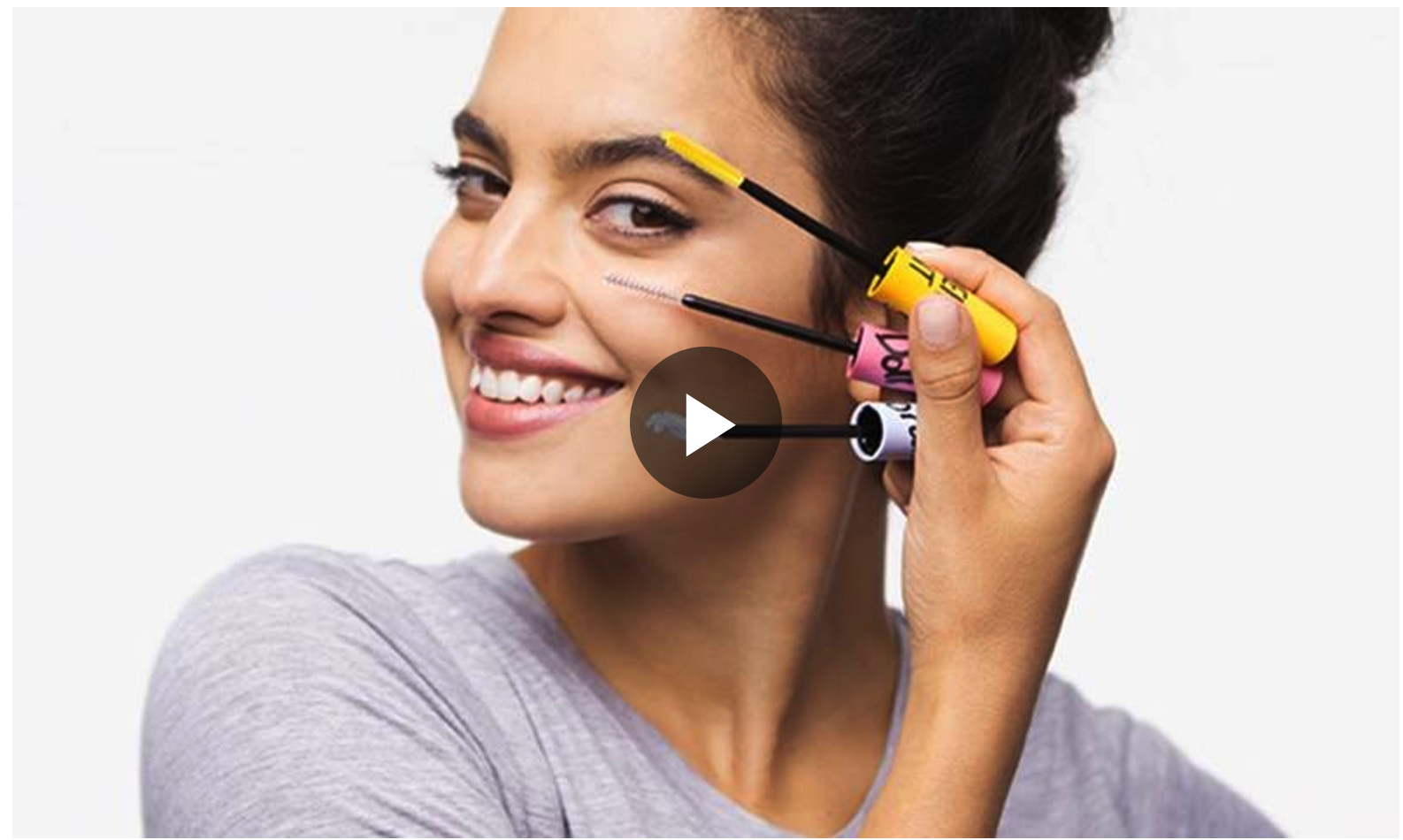 VIDEO TUTORIAL: 1 MASCARA OF EYELASHES, 4 LOOKS!