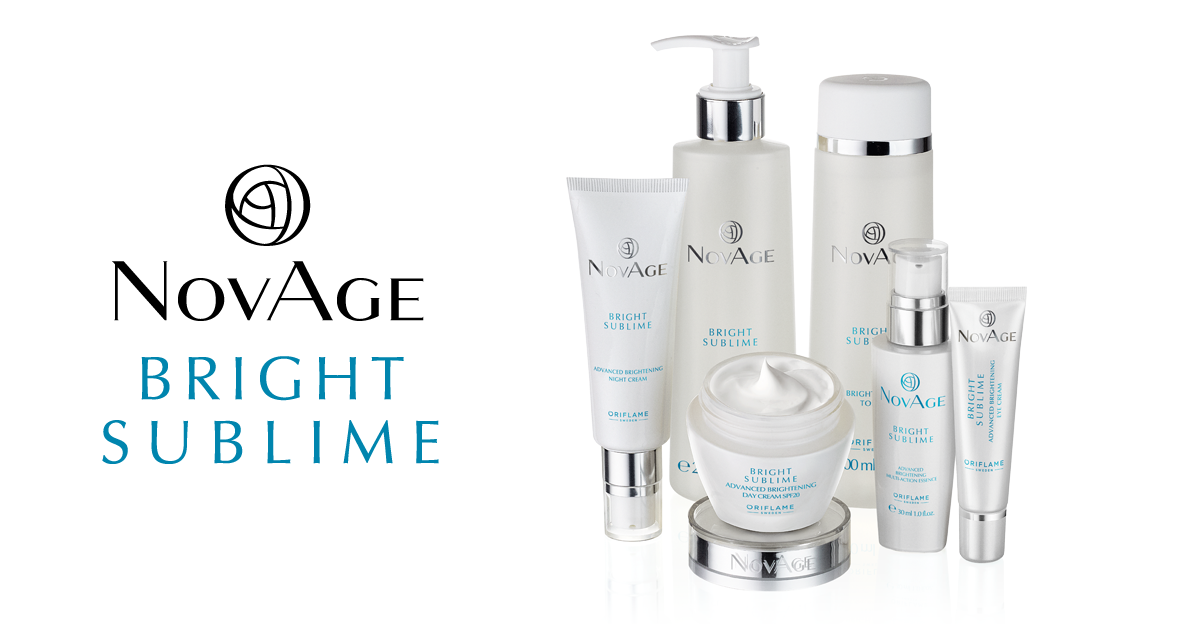 BRIGHT SUBLIME NOVAGE FROM ORIFLAME COSMETICS