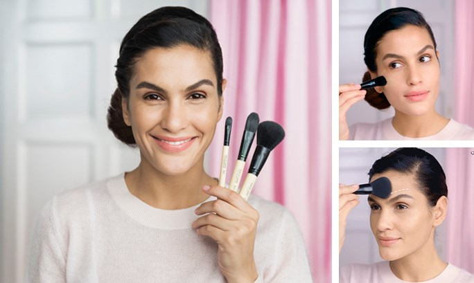 MAKEUP BRUSH SCHOOL: CHOOSING THE RIGHT BRUSHES FOR A FLAWLESS BASE
