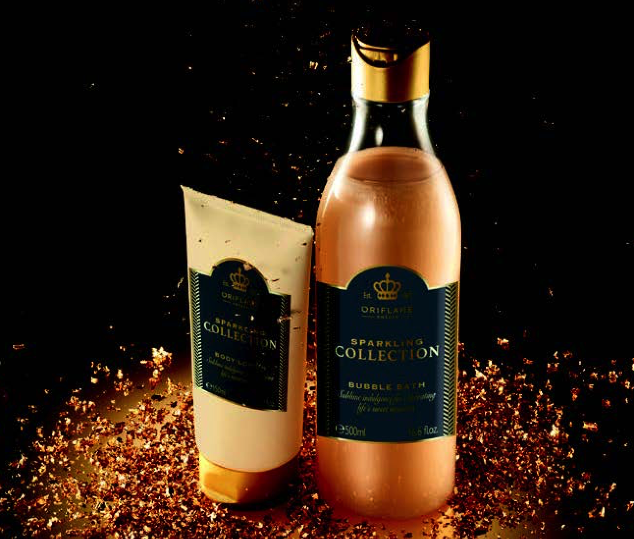 SPARKLING COLLECTION: BODY LOTION AND BATH FOAM