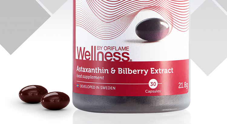 Astaxanthin and Bilberry Extract
